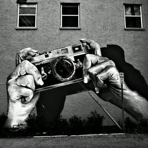 Street Photography - Old School Art - Be artist Be art Magazine
