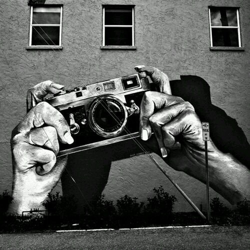 Street Photography - Old School Art - Be artist Be art Magazine