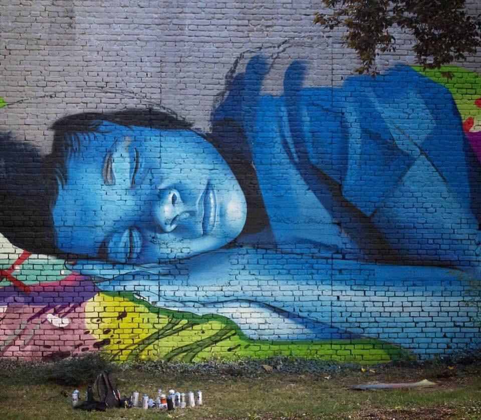 Sweet Dreams - #Streetart by Lonac and Chez