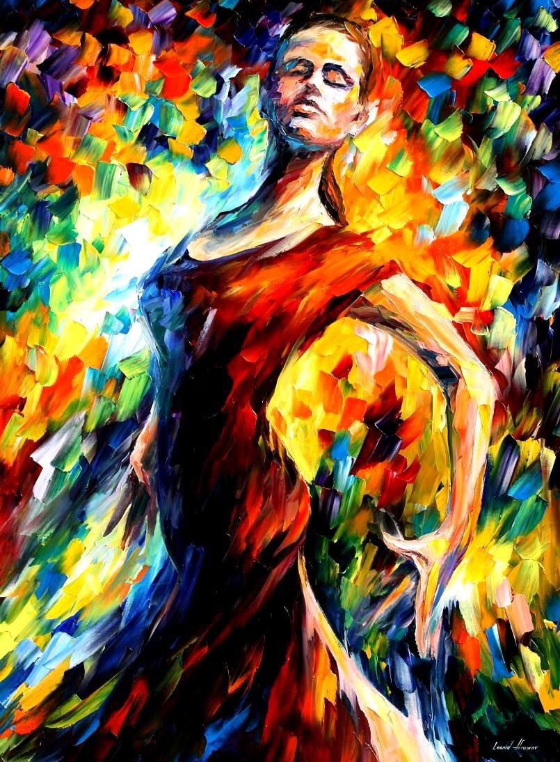 Flamenco Soul - #SpanishDay Oil Canvas - be artist be art magazine