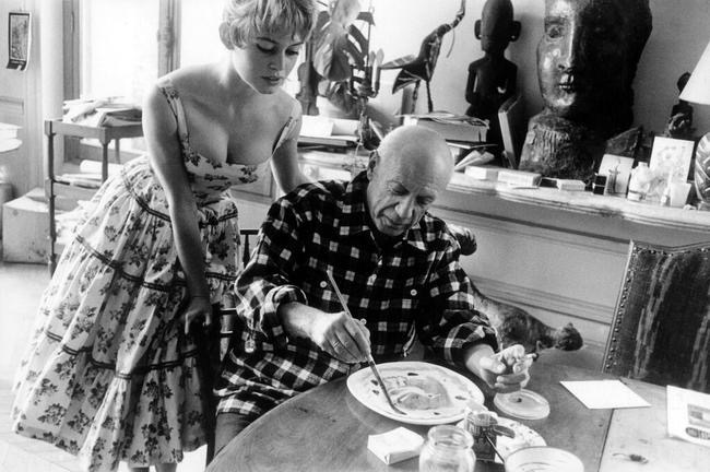 Happy Birthday Picasso - by Bridgitte Bardot and Be Artist Be Art Magazine