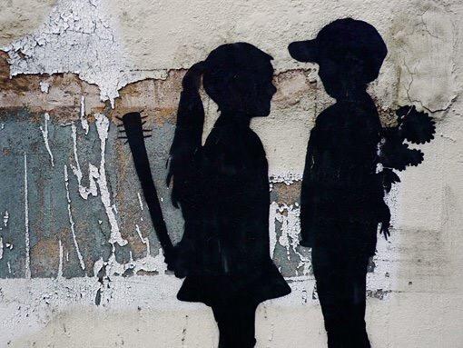 ¿ Innocence ? - #Creative #StreetArt - be artist be art Magazine