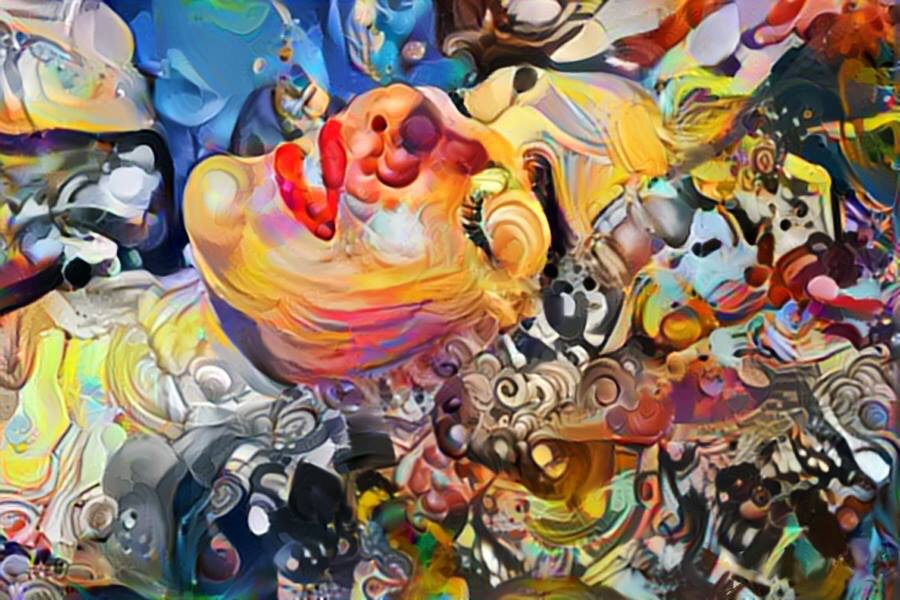 Free Mind - #creative painting by Paul Meilon - be artist be art Magazine
