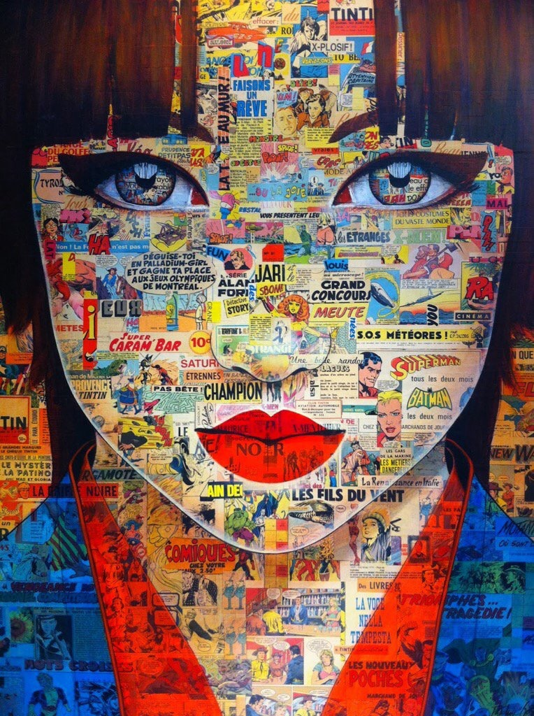 Enigmatic Eyes - by Pauline Gagnon - be artist be art magazine