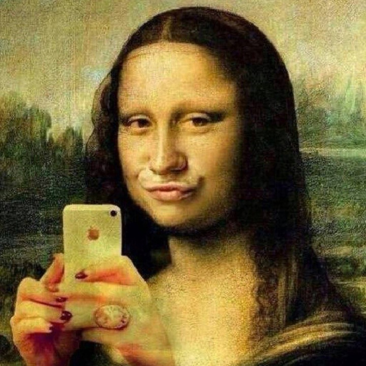 Gioconda 2.0 - #Creative Social #Critic - be artist be art magazine
