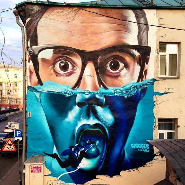 Dive on Me - #Creative #Surrealist #StreetArt - be artist be art magazine