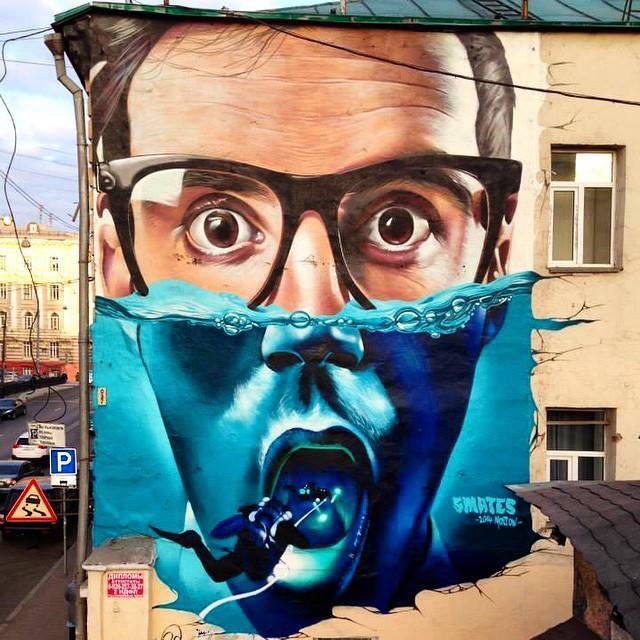 Dive on Me - #Creative #Surrealist #StreetArt - be artist be art magazine