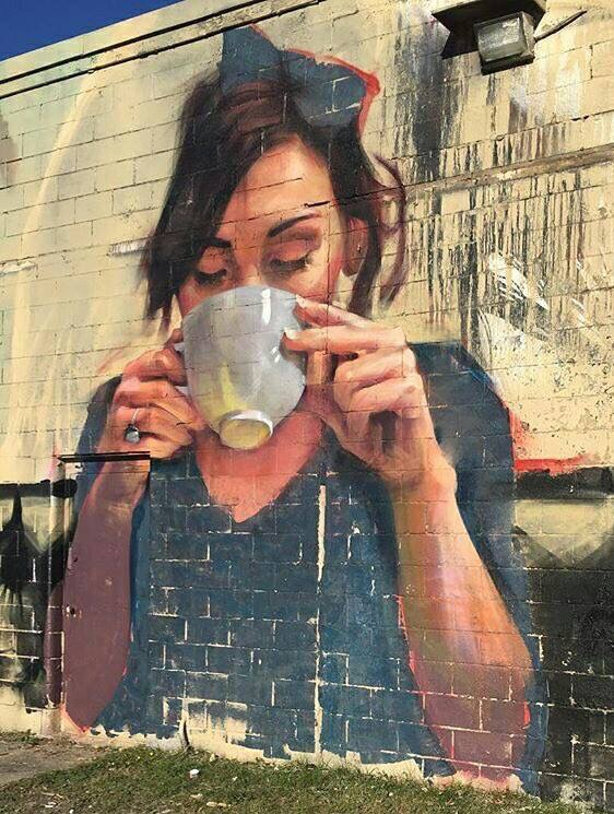 Beauty Coffee - #Creative #StreetArt - Be artist Be art Magazine