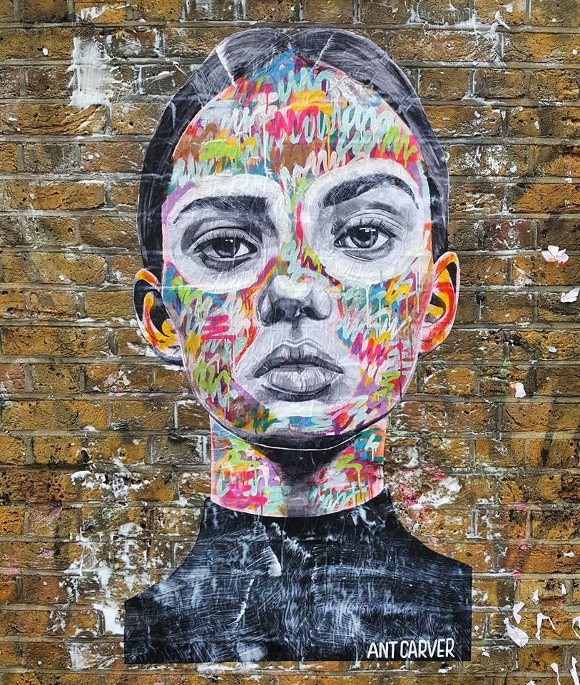 Beauty Thief by Ant Carver - #Creative #StreetArt - be artist be art Magazine