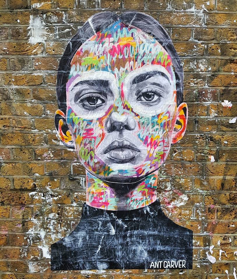 Beauty Thief by Ant Carver - #Creative #StreetArt - be artist be art Magazine