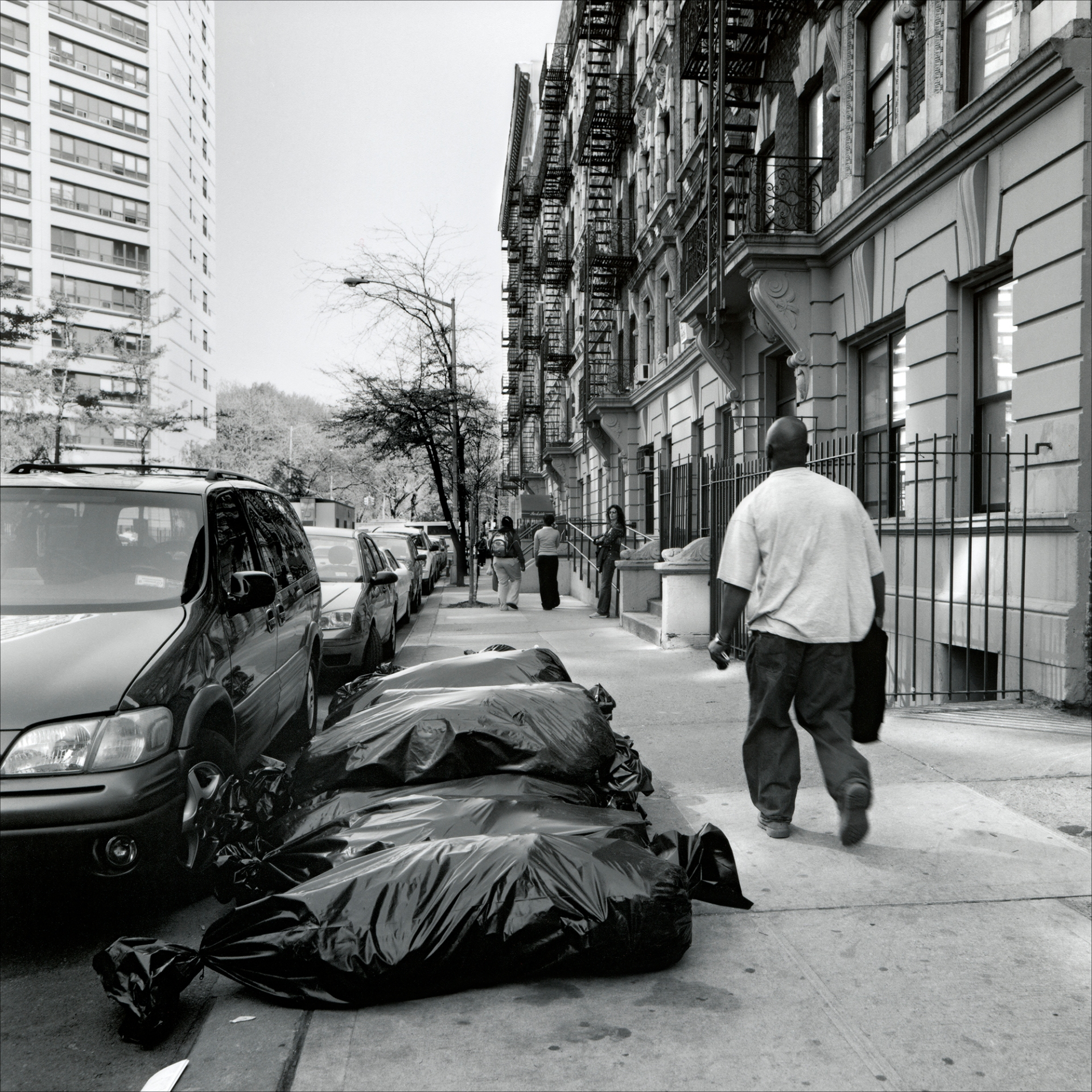 "Somewhere in The Bronx ""New York, Walking Down the Street"" by PhotoFactum - be artist be art Magazine"