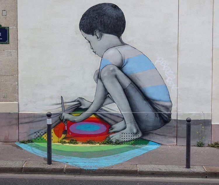 #Kids must be #Kids - #Creative #StreetArt by Seth Globepainter - be artist be art magazine