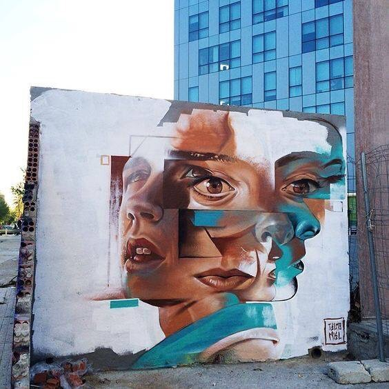 MultiFace - #Creative #StreetArt - be artist be art magazine