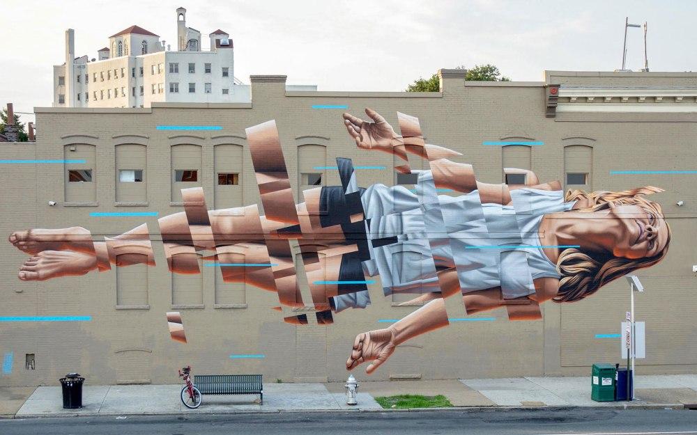 State of mind... #Decomposition - #Creative #StreetArt - be artist be art magazine
