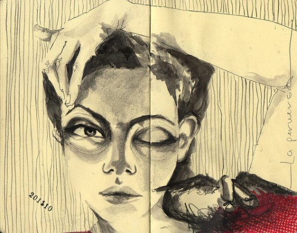 States of Mind - Sketches by Erika Kuhn