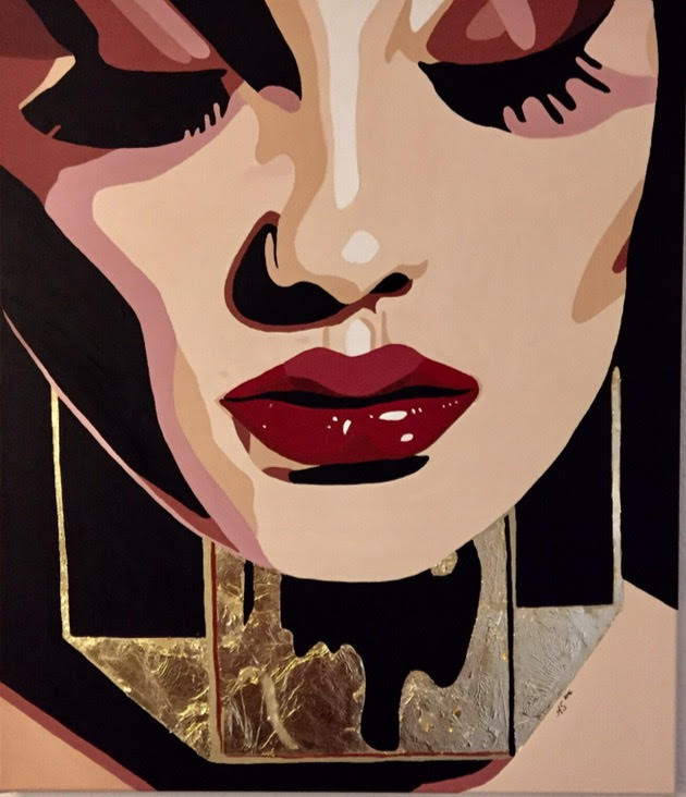 Feelings & Textures, #Digital #Collage - by Alexandra Schmidt @PrintsHessin - be artist be art magazine
