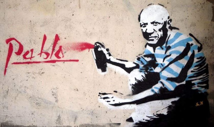 Rebel #Picasso - #Creative #StreetArt - be artist be art magazine