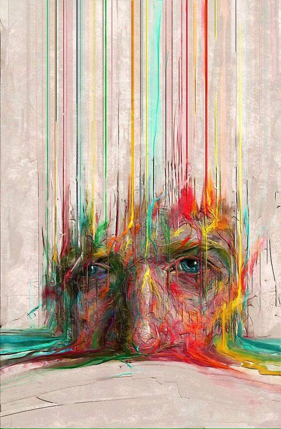 Melting Soul - #Creative & #Colorful #StreetArt by Sam Spratt - be artist be art magazine