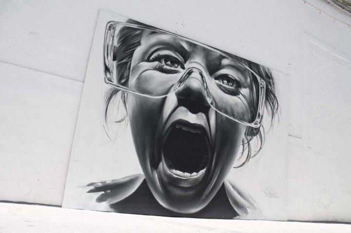 Express Yourself - #Creative #StreetArt by Sake Art - be artist be art magazine