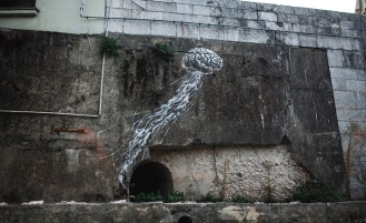 Camouflage (Tribute to René Magritte) - Pure #StreetArt by @Pejac_art