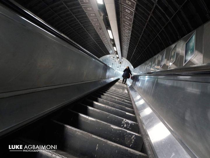 """London Bridge Station"" London Tubemapper - by Luke Agbaimoni - be artist be art magazine"