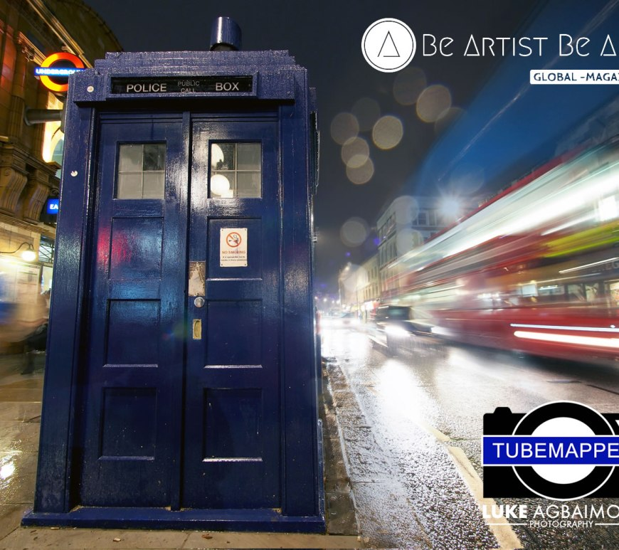 Tubemmapper, by Metro Stations - by Luke Agbaimoni - be artist be art magazine