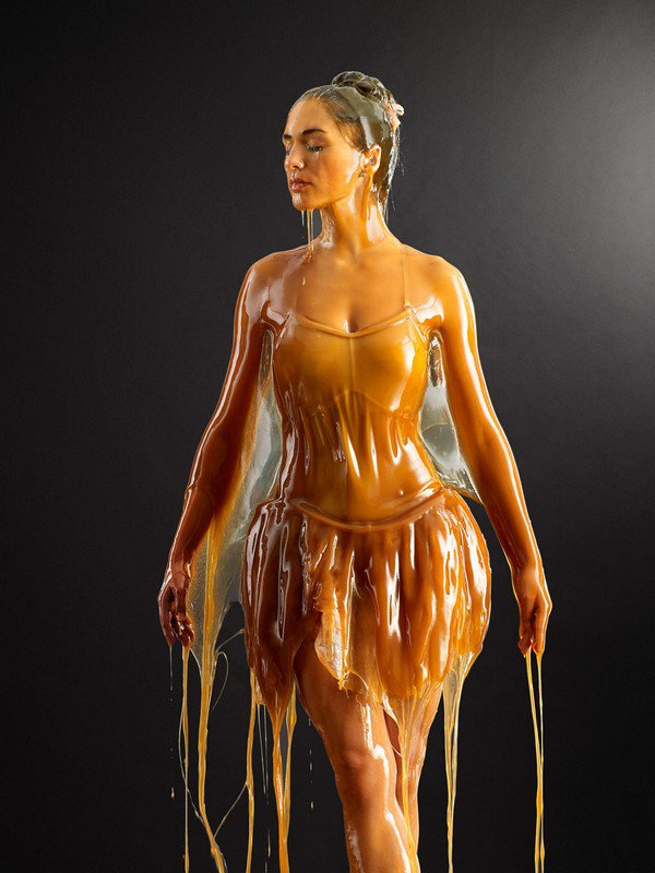 """Preservation"", Honey Humans - by Blake Little - be artist be art magazine"