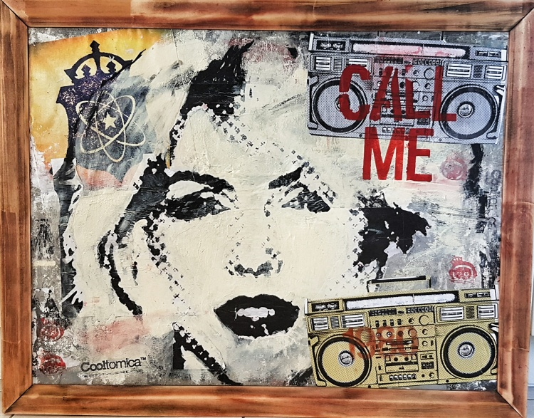"Music & Art Social Critic Collages - ""Playlist"" series by Cooltomica - be artist be art magazine"