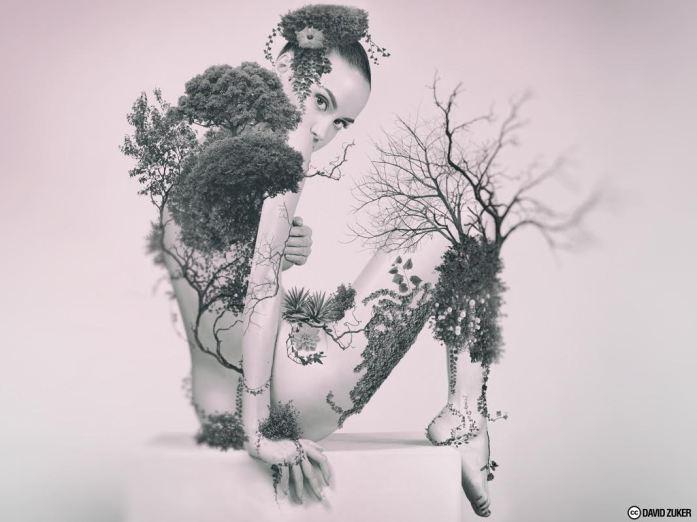 Natural Women, Fantasy Beauty - by David Zuker - be artist be art magazine