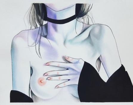Pretty Fears - Beauty Illustrations by Harumi Hironaka - be artist be art magazine