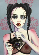 Pretty Fears - Beauty Illustrations by Harumi Hironaka