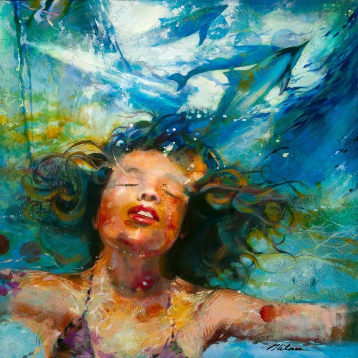 """Depth of a Dream -by John and Elli Milan – """"Two Hearts 