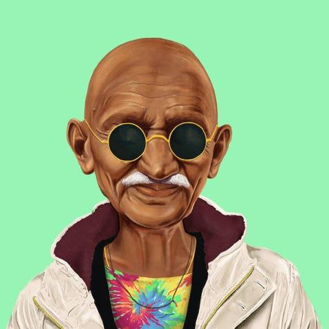 #Hipster #Celebrities - Creative illustrations by Amit Shimoni - be artist be art magazine