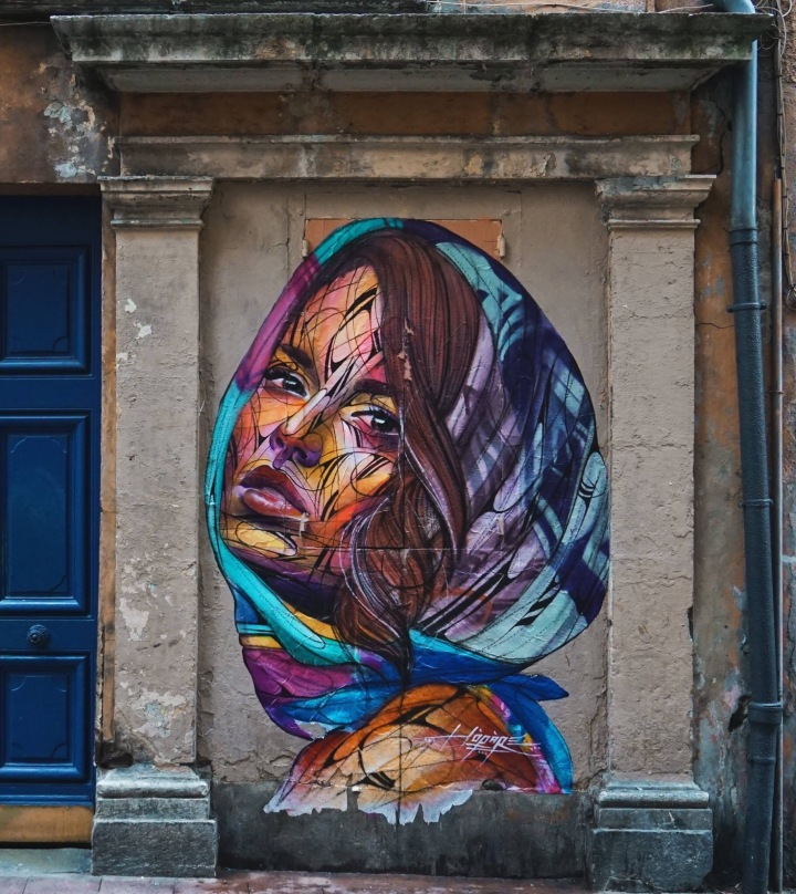 True eyes, life emotions - #Colorful #StreetArt by Hopare - be artist be art magazine