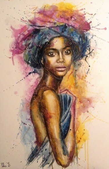 Caramel #Beauty - #Colorful #Art Traces - be artist be art magazine