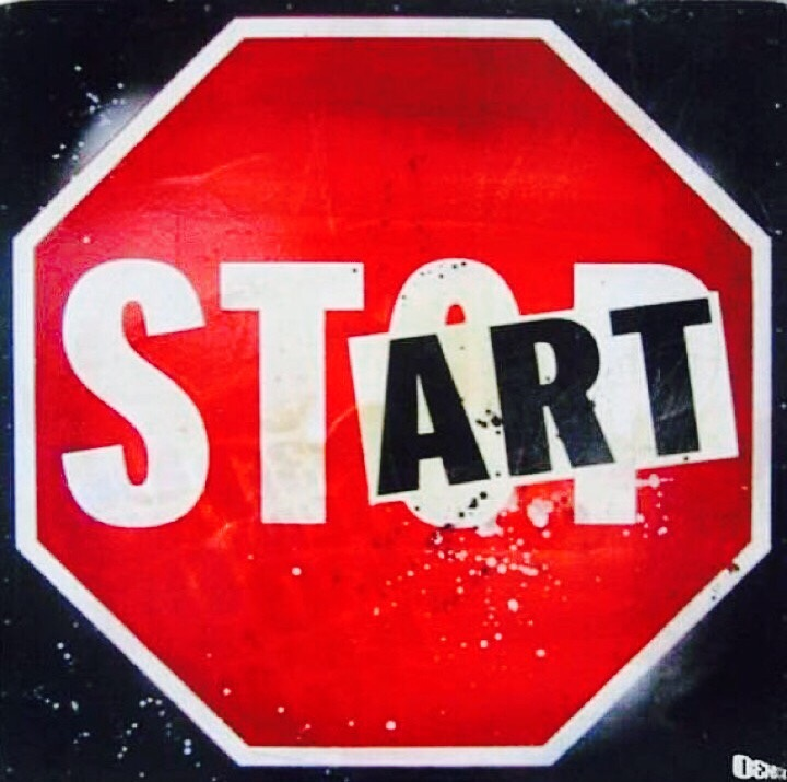 #Stop talking, #Start acting! - #Creative #StreetArt - be artist be art magazine