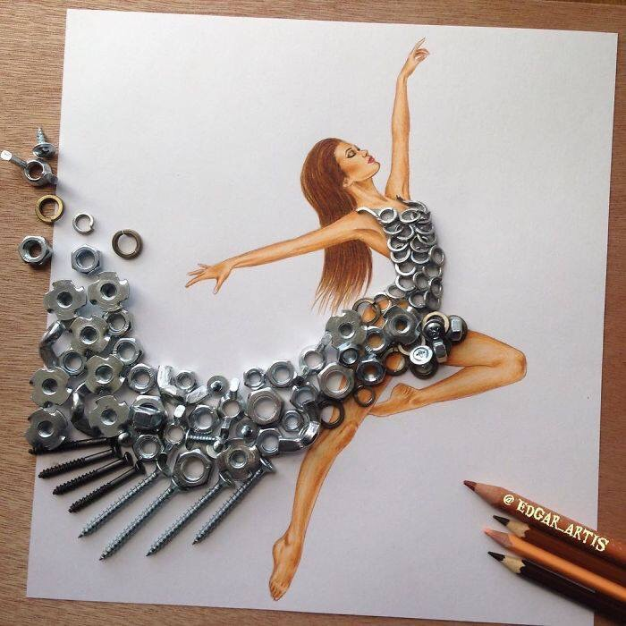 Made of Steel - #Strong Woman, #Beauty Woman - be artist be art magazine