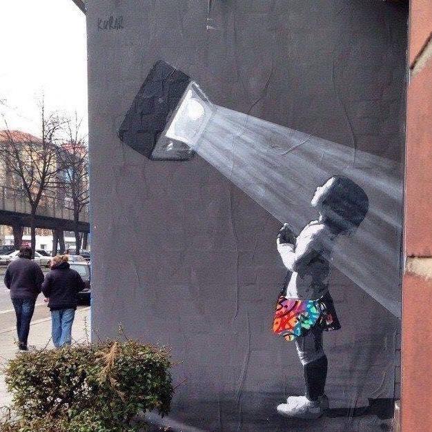 Mass Distraction - By Kurar - be artist be art magazine