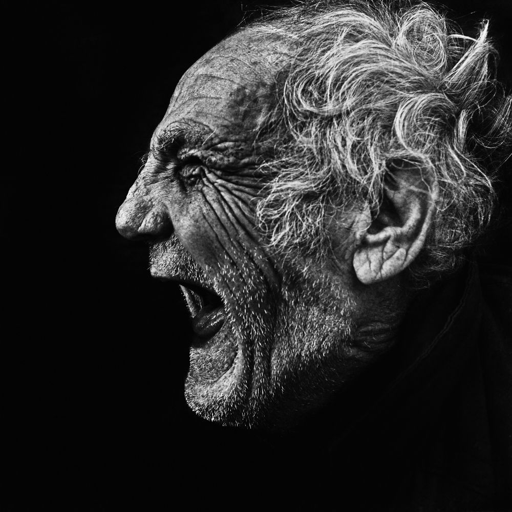 The Scream - Feelings Photography by Lee Jeffries - be artist be art magazine