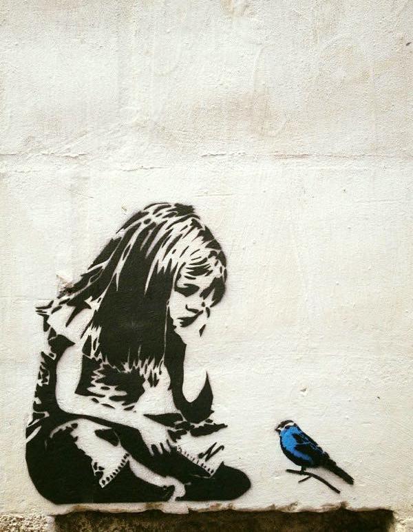 There is no one like YOU ! - Creative StreetArt - be artist be art magazine