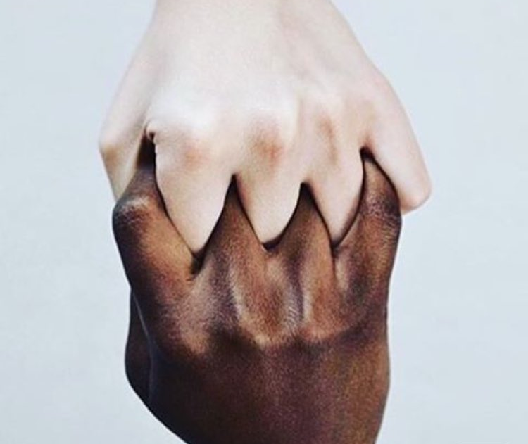 We are only #Humans - #NO #racism - be artist be art magazine