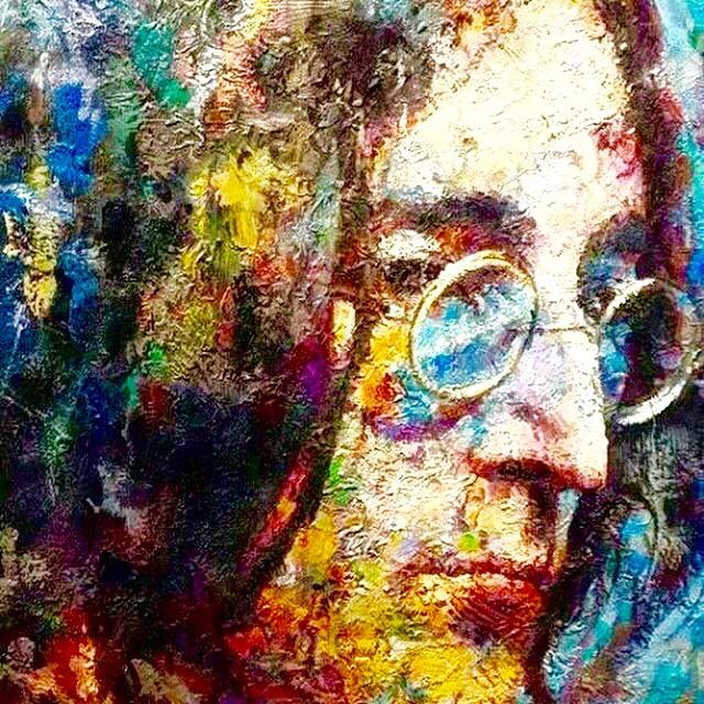 #Lennon, True #feelings - Pure #Art - be artist be art magazine