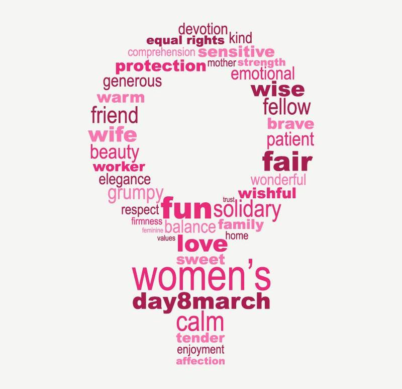 #STOP wishing, #START acting for Women - Equity, Respect, Justice - womens day - be artist be art magazine
