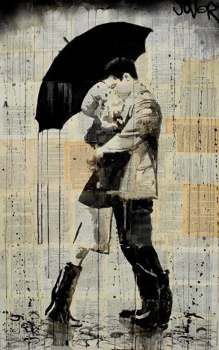#Vintage #Love Moments - by Loui Jover - be artist be art magazine