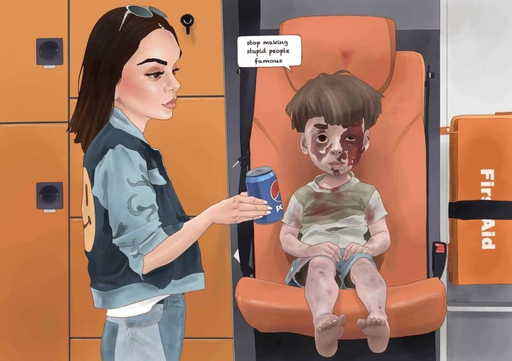 #FrivolityLand, stop making #Stupid people #famous - by Luis Quiles - be artist be art magazine