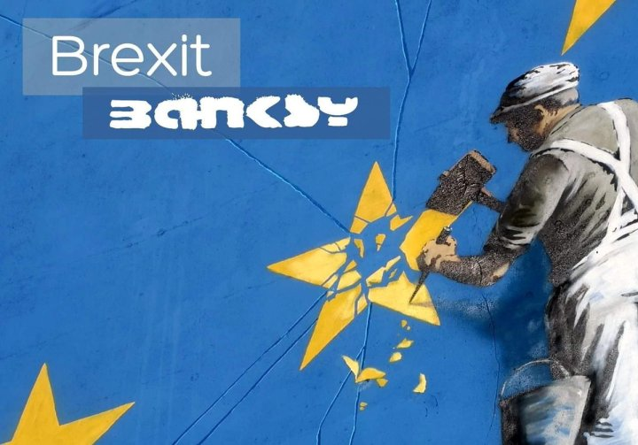 Banksy is Back - EU update - Brexit - be artist be art magazine