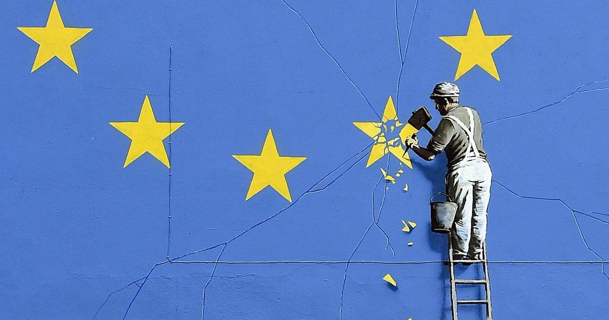 Banksy is Back - EU update - Brexit - be artist be art magazine