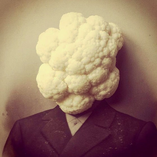 Cauli-Face - #creative #photography by Susana Blasco - be artist be art magazine