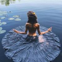 Human #Lotus, Water #Beauty - #Creative #Photography