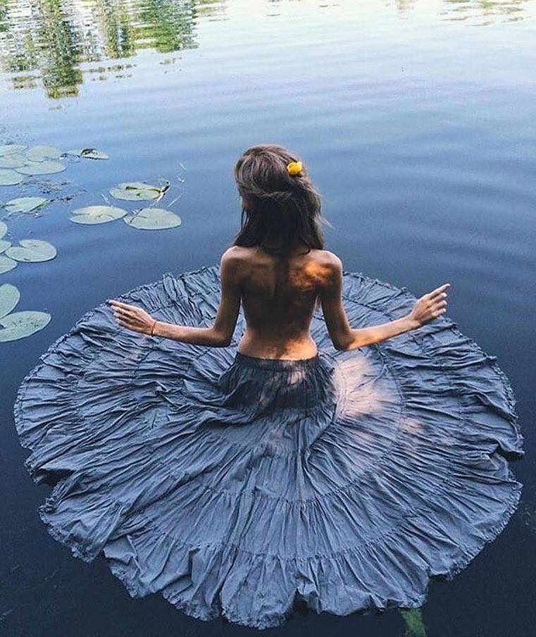 Human #Lotus, Water #Beauty - #Creative #Photography - be artist be art magazine